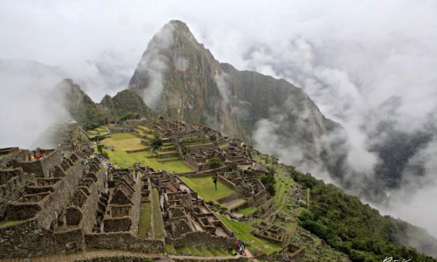 Petite rando en direction du Machu Picchu