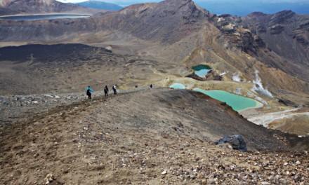 Tongariro trek en Nouvelle-Zélande, 19km pour rencontrer Sauron