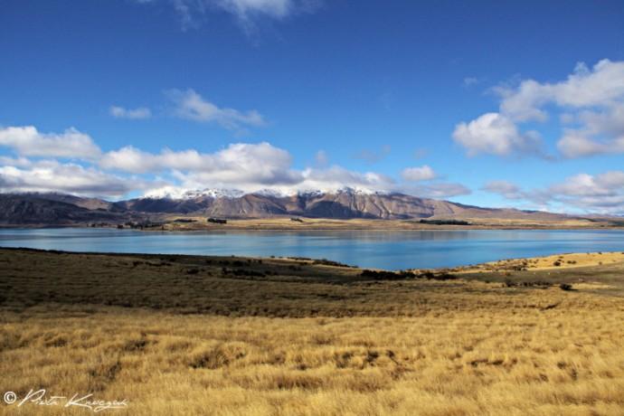 nouvelle-zélande lac Tekapo