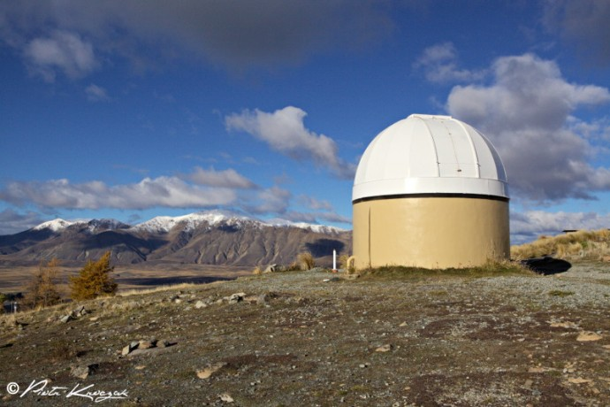 nouvelle-zélande observatoire Tekapo