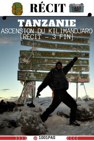 recit ascension kilimandjaro fin