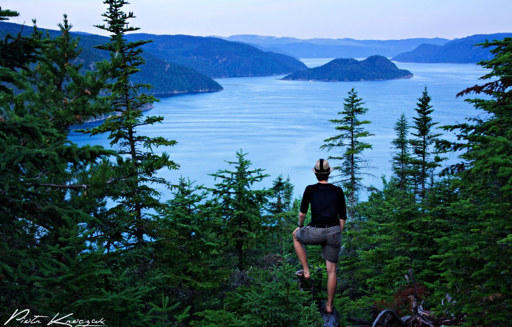 Randonnée sur le sentier du fjord Saguenay – Quebec