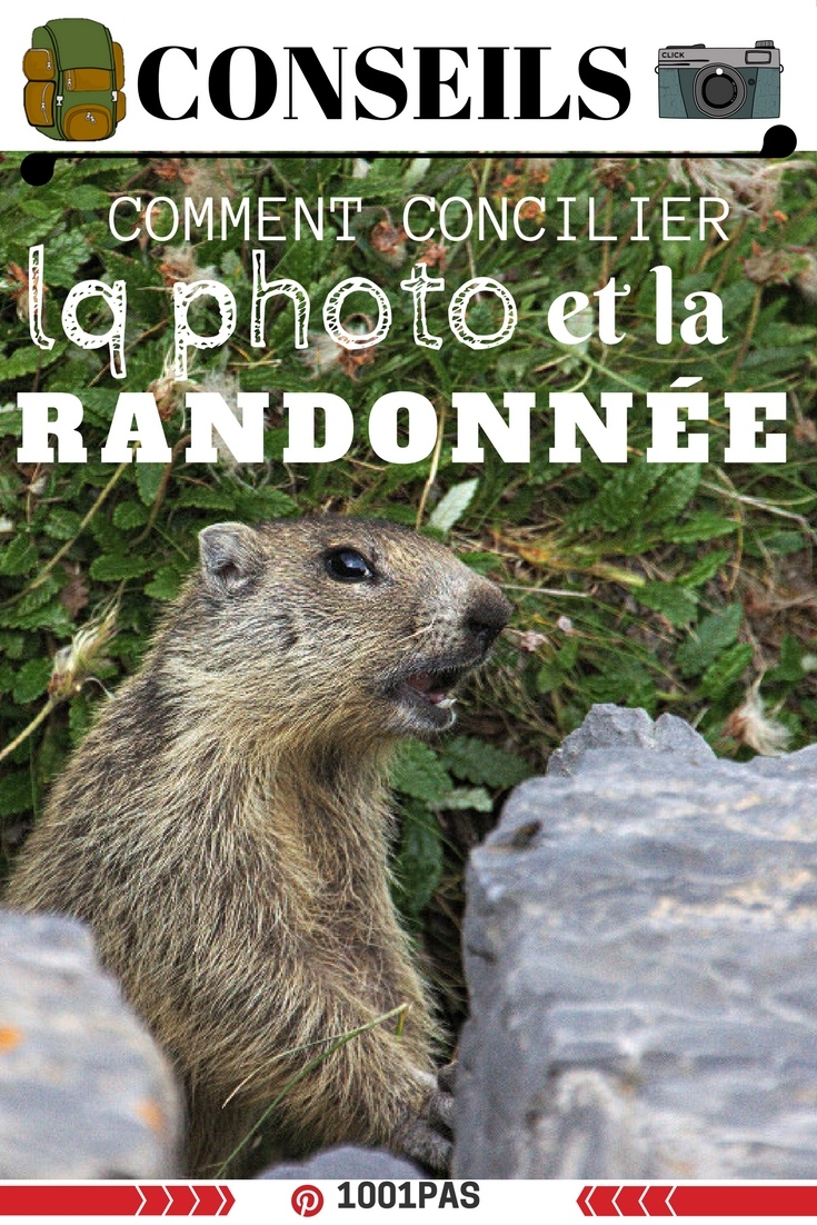 faire de la photo en randonnée