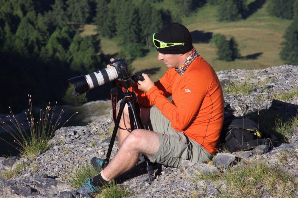 Gregory Rohart du blog I-trekking avec Reflex, Zoom et mon trépied Vanguard