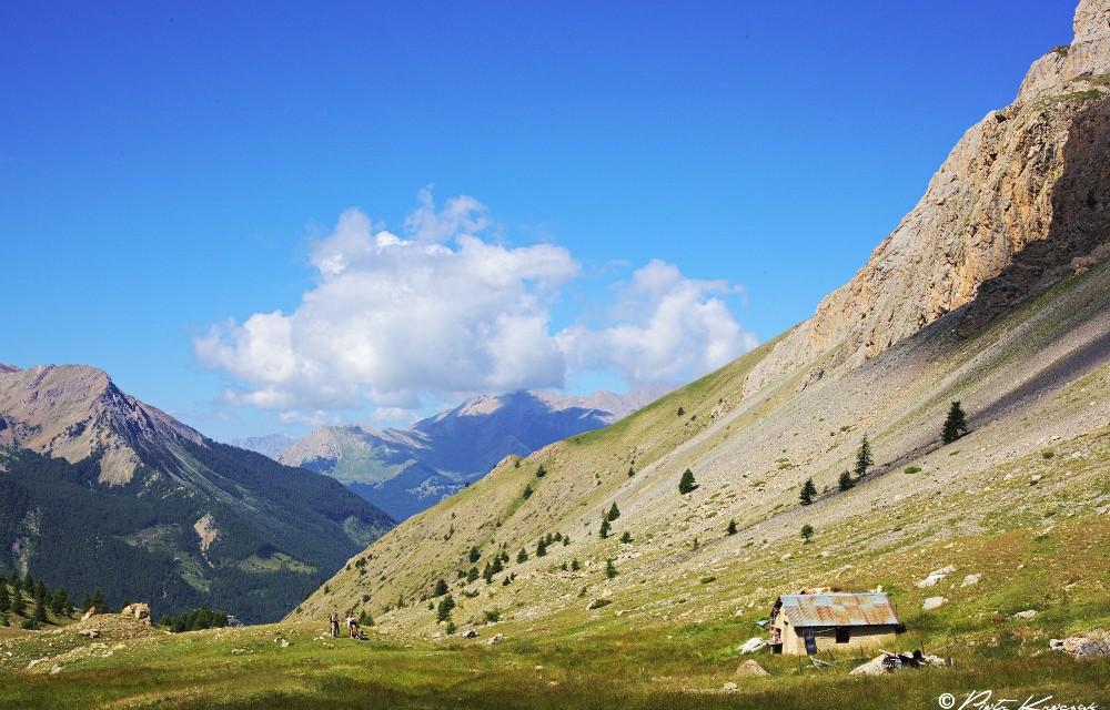 Tour du Brec de Chambeyron dans le massif de l'Ubaye.