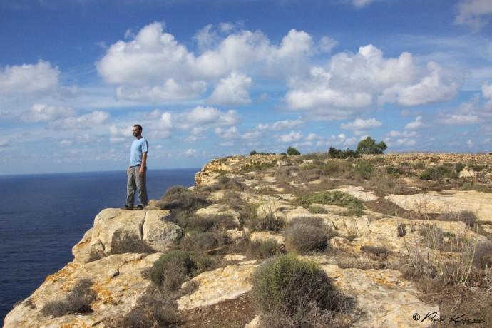 randonnée Gozo - Malte