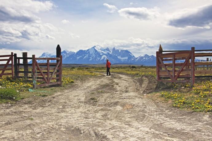 entrée Patagonie