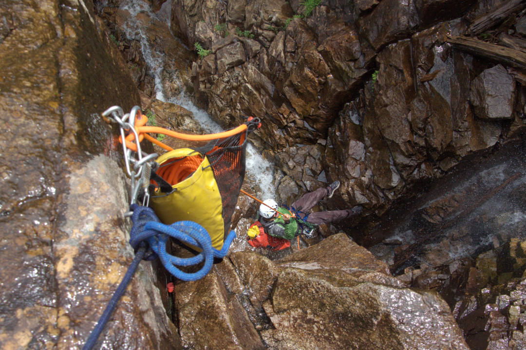 canyoning bras du nord quebec