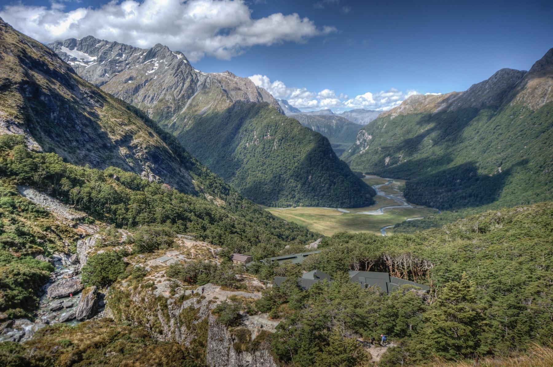 sentier de Routeburn en Nouvelle Zélande