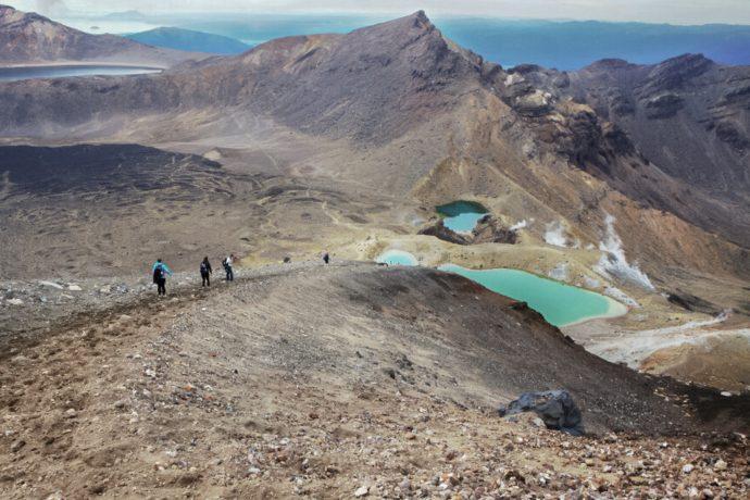 Tongariro trek en nouvelle zelande