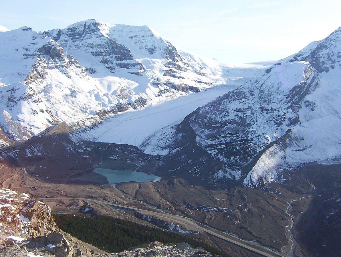 Glacier Athabasca Canada