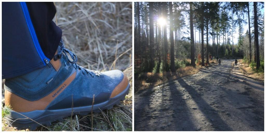 Test chaussures merrell