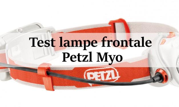 Test lampe frontale : Petzl Myo