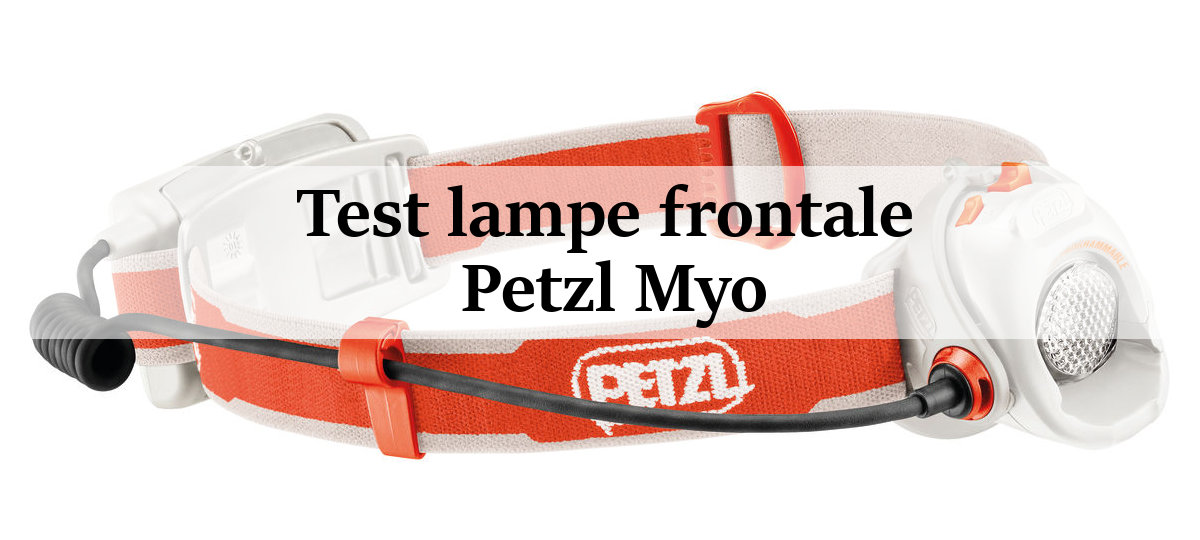 test lampe frontale petzl myo. Black Bedroom Furniture Sets. Home Design Ideas
