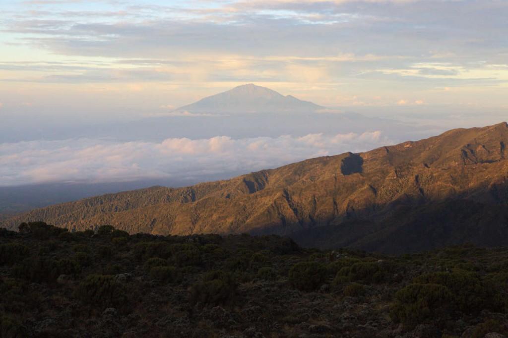 vue trek machame kilimandjaro