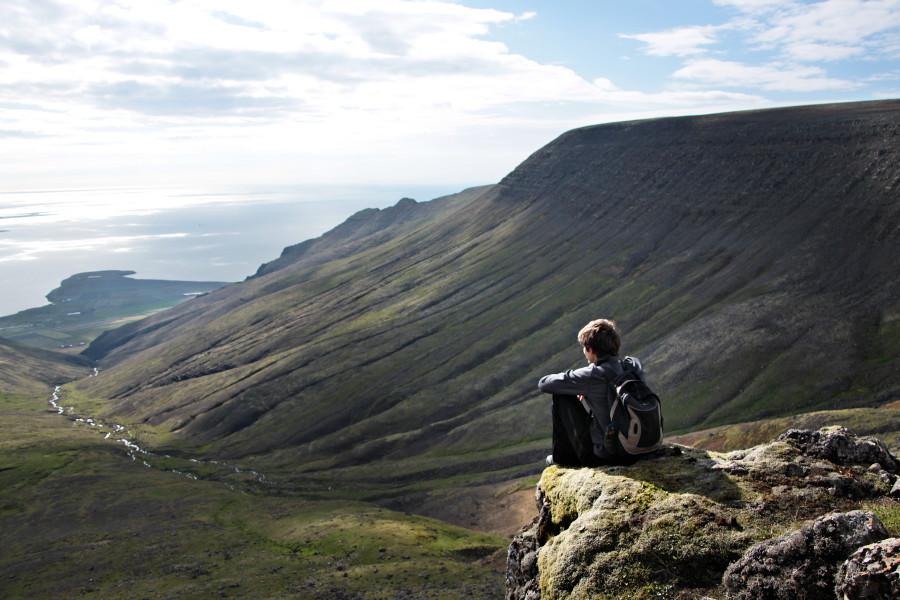 trek Esja islande