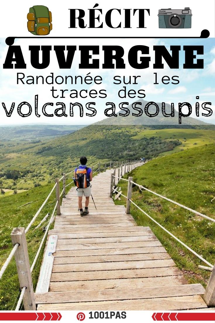 trek en Auvergne