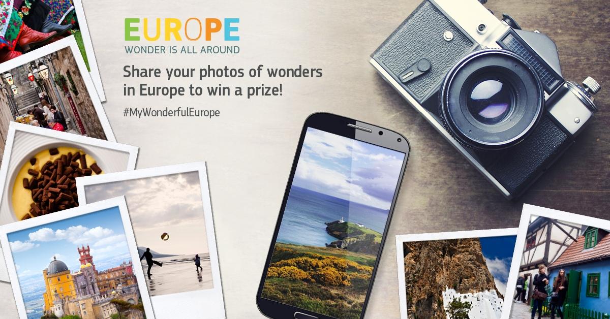 Campagne. Europe, wonder is all around : L'Europe est merveilleuse non ?
