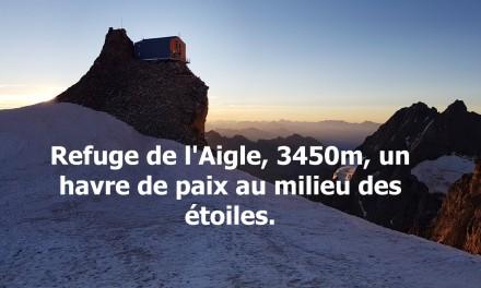 Le Refuge de l'Aigle : refuge mythique dans les Alpes