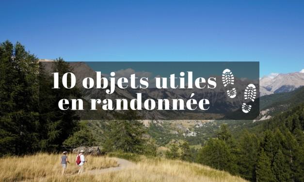 Les objets utiles à prendre en randonnée