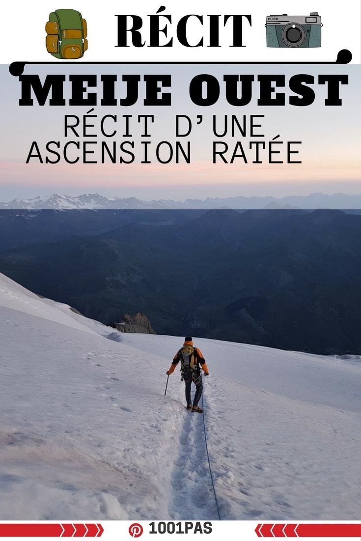 hautes alpes recit ascensio meije
