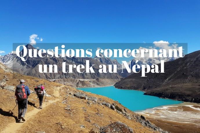 Vos questions pour préparer son trek au Népal