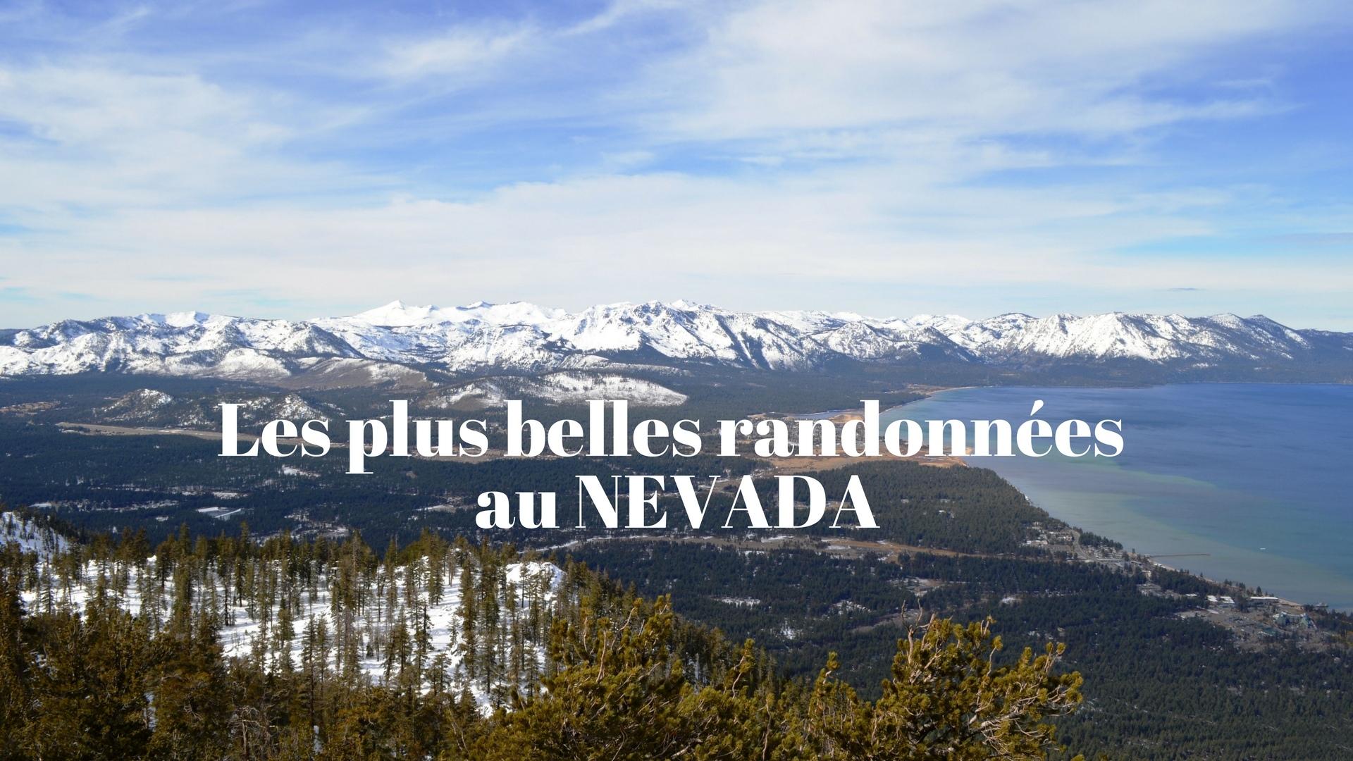 Les plus beaux treks au Nevada