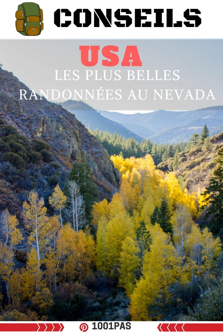 usa belle randonnee Nevada