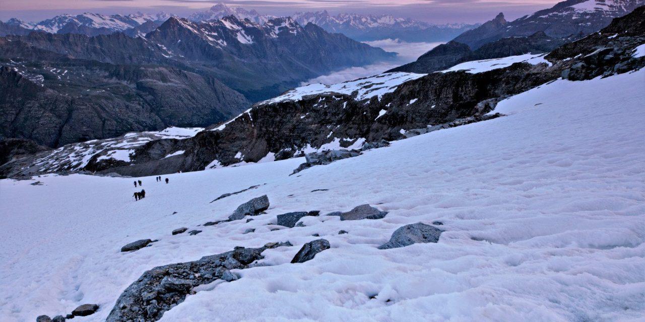 Stage alpinisme UCPA : «mon premier 4000» le Grand Paradis