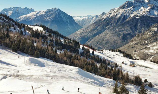 Les Alpes, ce terrain de jeu hivernal