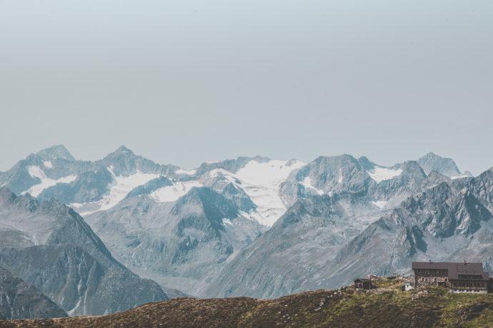 Randonnée en Autriche : Hohenweg Kreuzjoch à Franz-Senn-Hutte