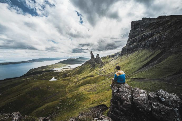 image ecosse montagne